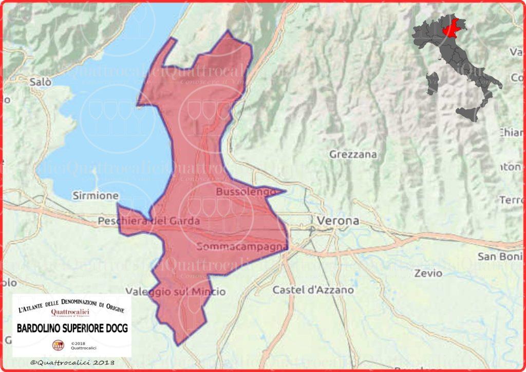 bardolino-superiore-cartina