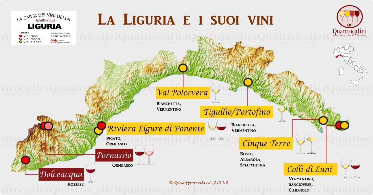 La Liguria e i suoi vini