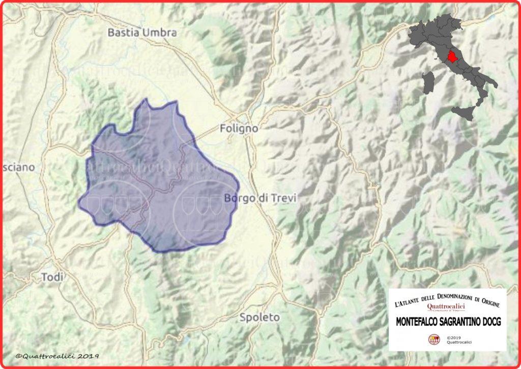 cartina montefalco sagrantino docg