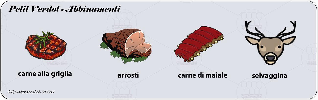 degustazione petit verdot abbinamenti
