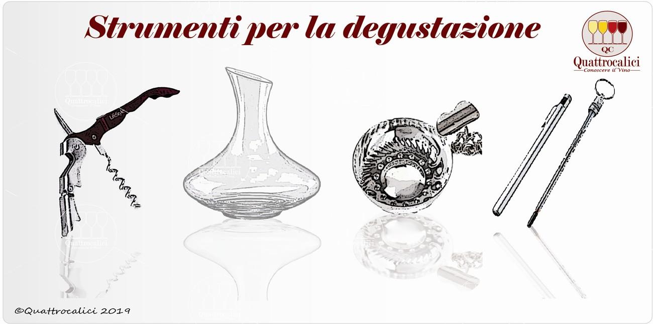 strumenti degustazione vino