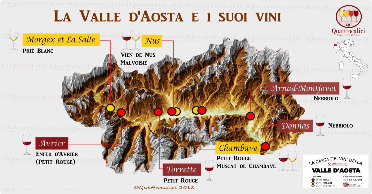 Vini della Valle d'Aosta