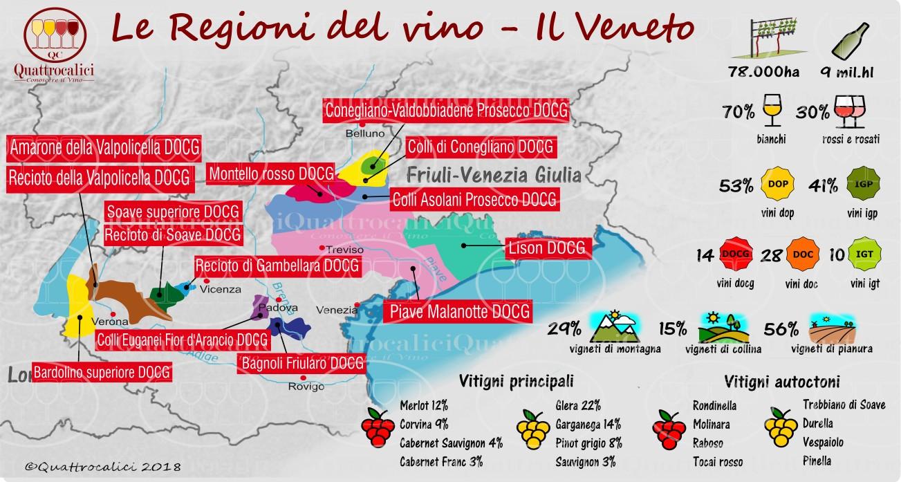 Le regioni del vino: Il Veneto
