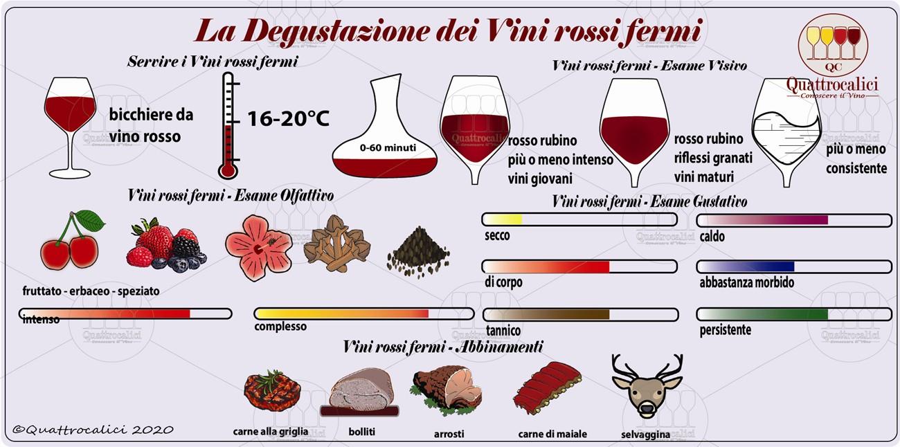 vini rossi fermi degustazione