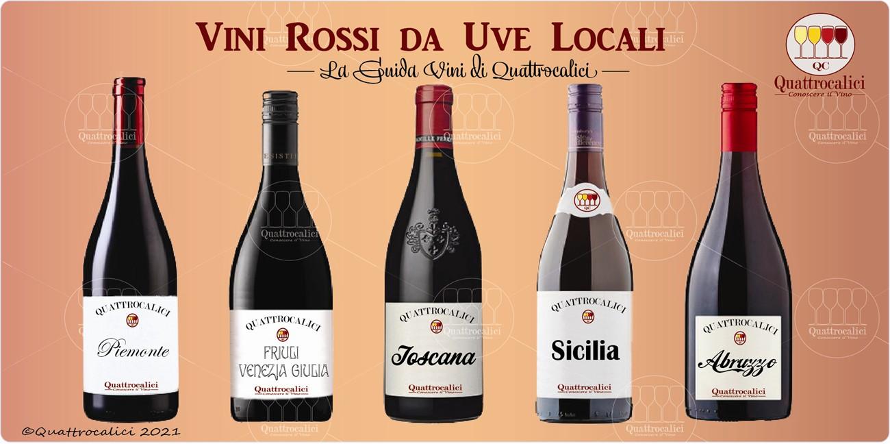 vini rossi da uve locali guida vini