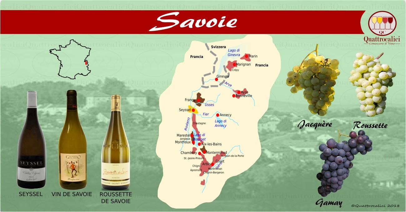 i vini della savoia
