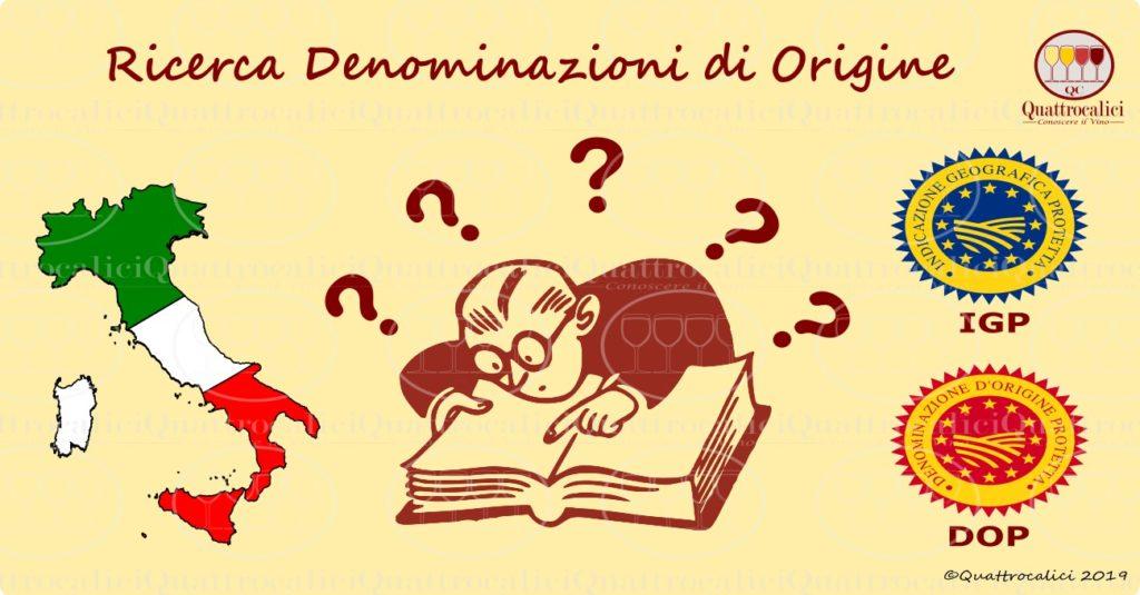 Le Denominazioni di Origine in Italia
