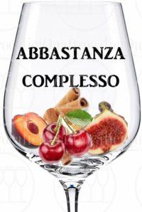 vino abbastanza complesso