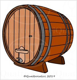 Botti grandi per il vino