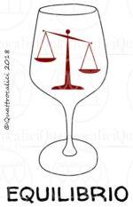 equilibrio del vino