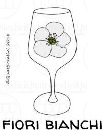 I profumi del vino: fiori bianchi