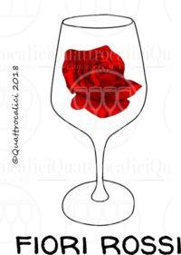 I profumi del vino: fiori rossi