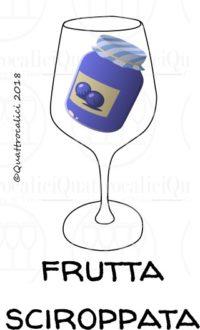 I profumi del vino: frutta caramellata o sciroppata