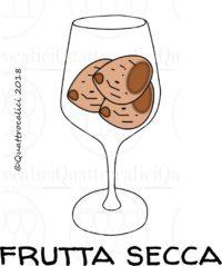 I profumi del vino: frutta secca