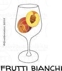 I profumi del vino: frutti bianchi