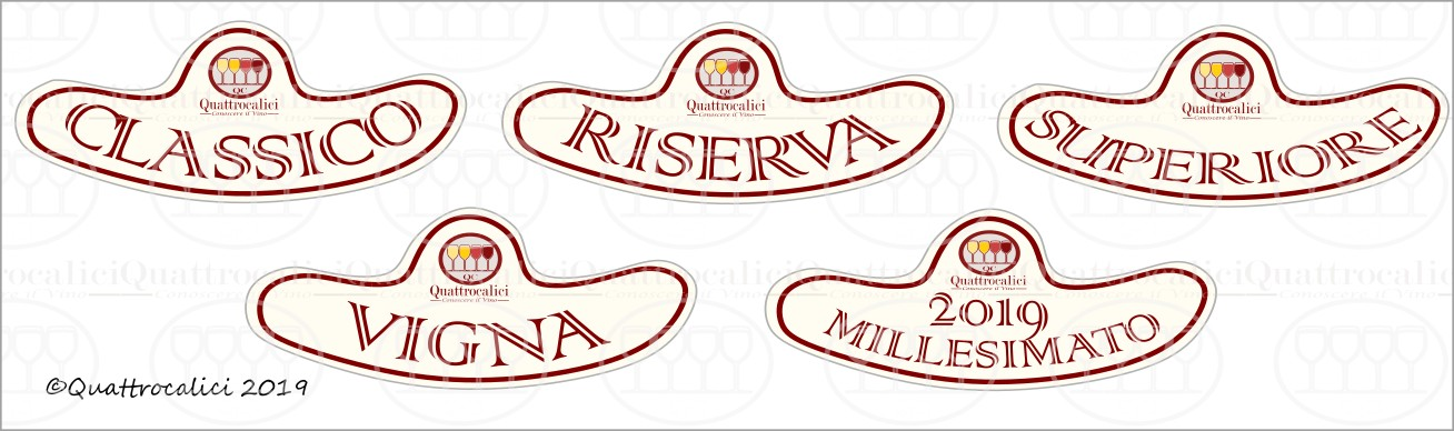 """menzioni vino """"Superiore"""", """"Riserva"""", """"Classico"""", """"Vigna"""""""