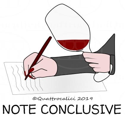Degustazione del vino: Note conclusive