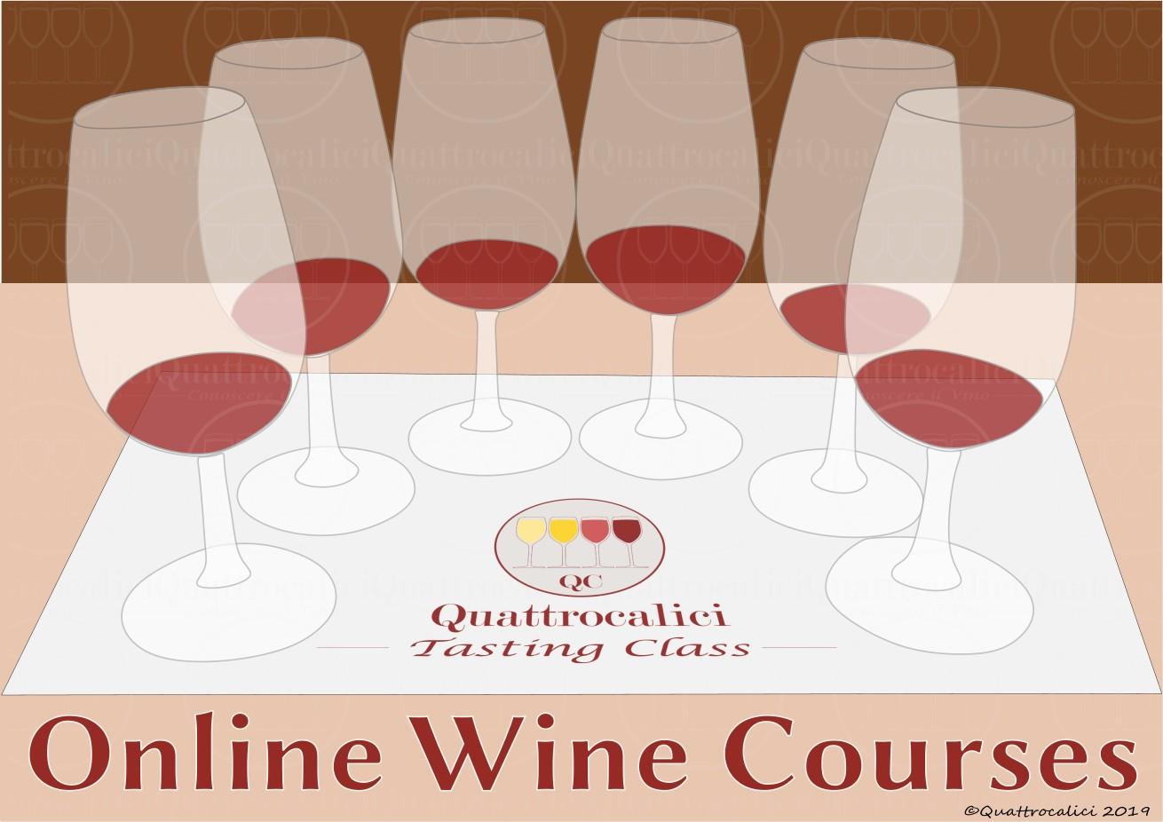 corsi sul vino online