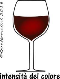 Intensità colore vini