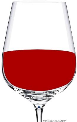 vino dal colore più o meno intenso