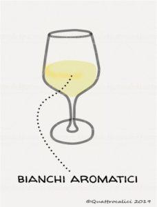 I vini bianchi aromatici