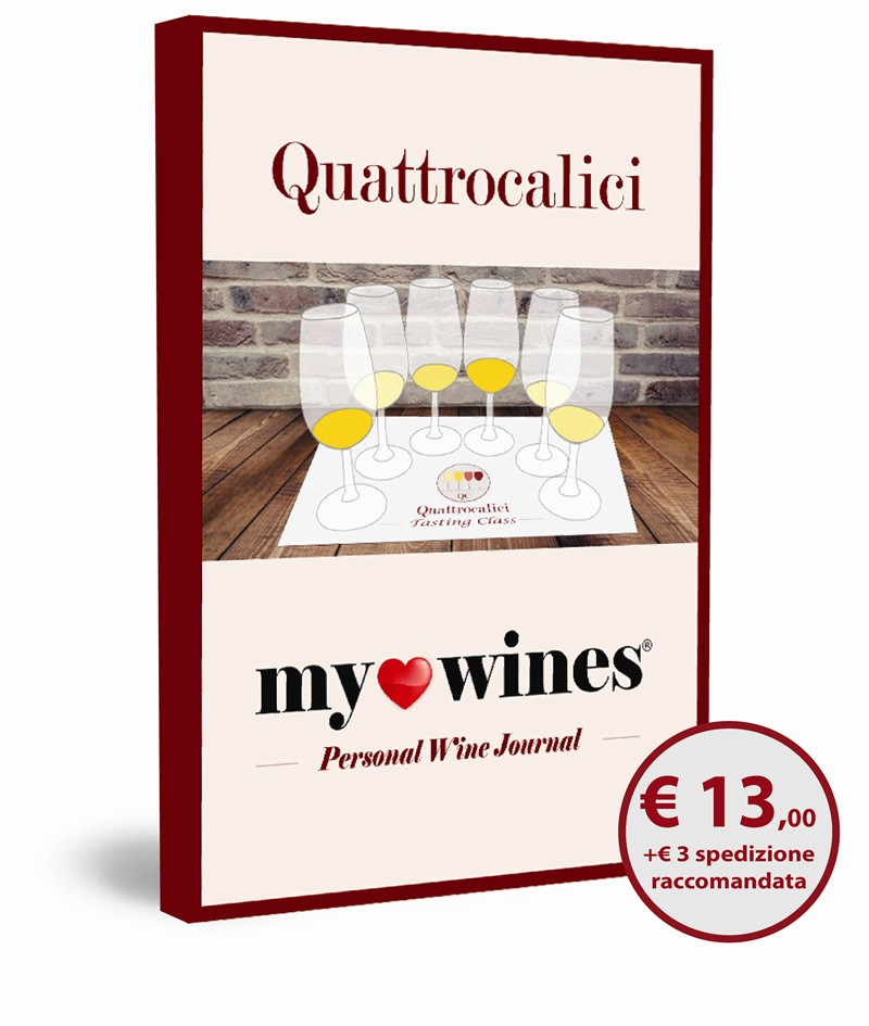 my wines quaderno degustazione