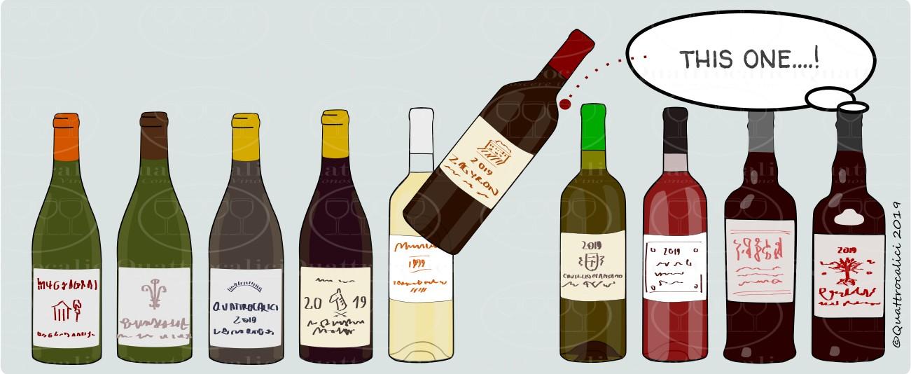 scegliere un vino
