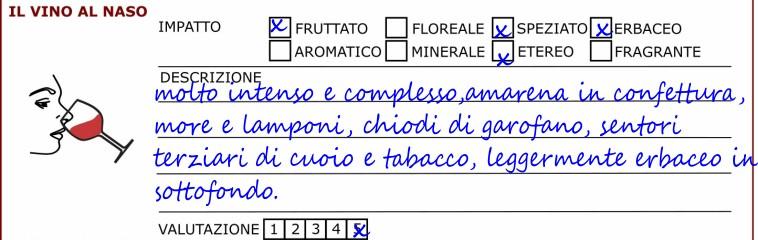 scheda-degustazione-esame olfattivo