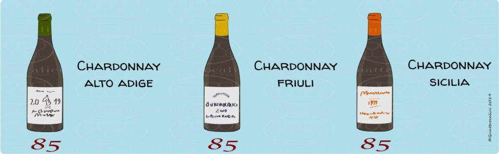 valutazione chardonnay
