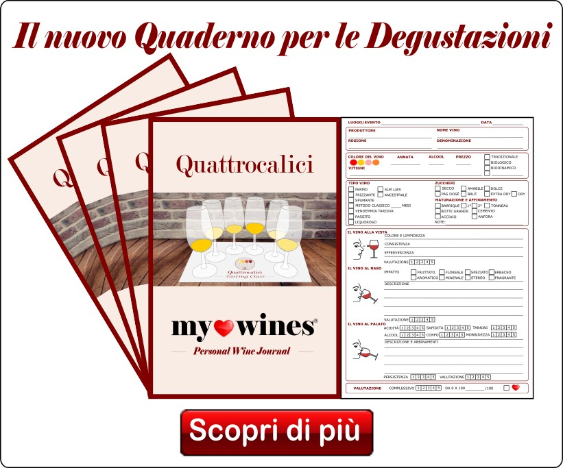 My Wines - Quaderno di Degustazione
