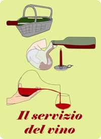 Il servizio del vino