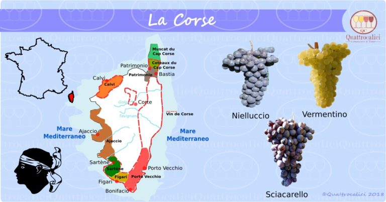 La Corsica e il vino