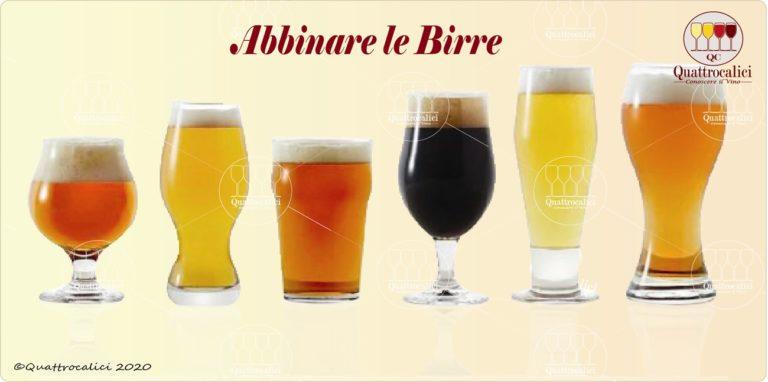 abbinare le birre
