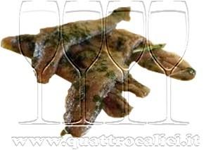 Acciughe tartufate