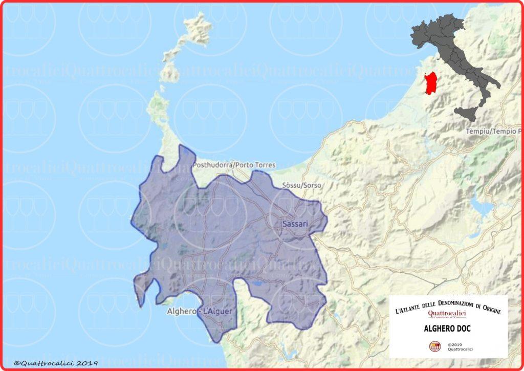 alghero doc cartina