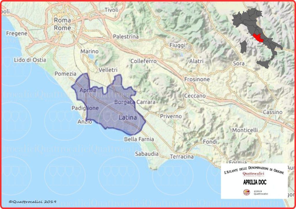 Aprilia DOC Cartina Denominazione
