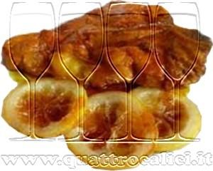 Arrosto di maiale con limone caramellato