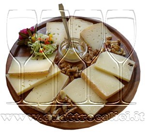 Assiette di formaggi misti