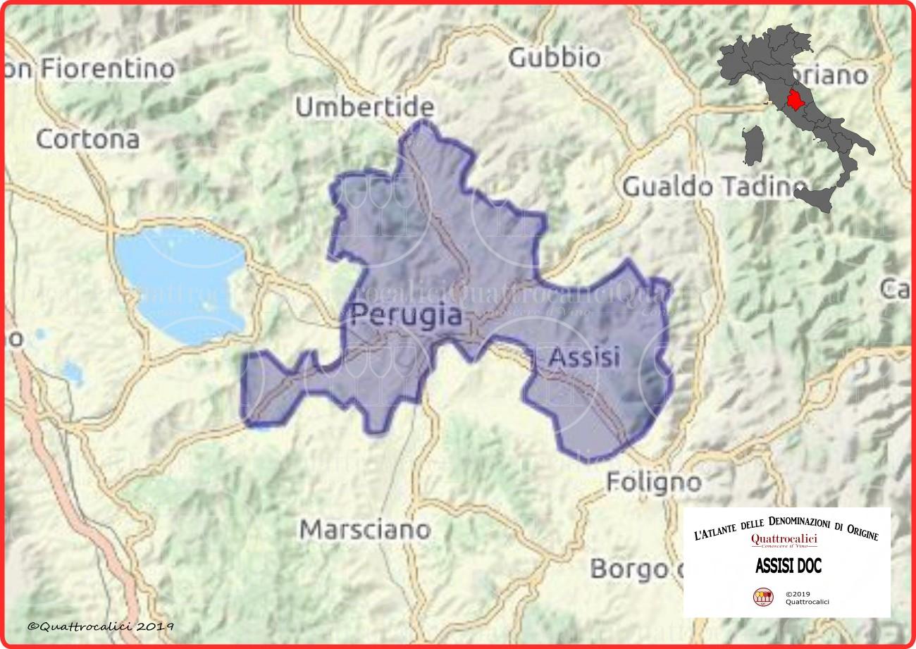 Assisi DOC Cartina