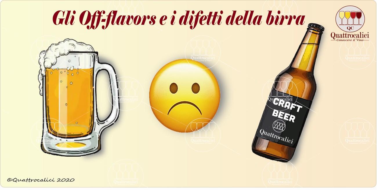 birra off flavors difetti