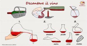 decantare vino