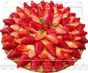 Dolce di fragole