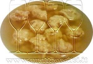 Gnocchetti di pane in brodo