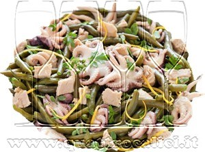 Insalata di moscardini e fagiolini