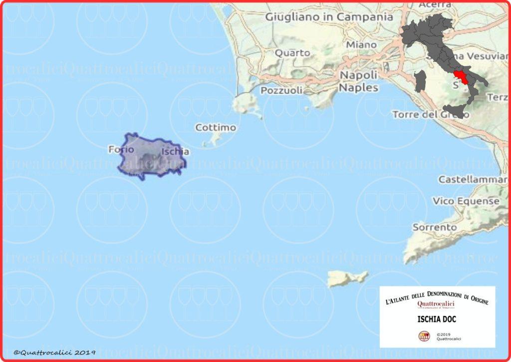 Ischia DOC cartina