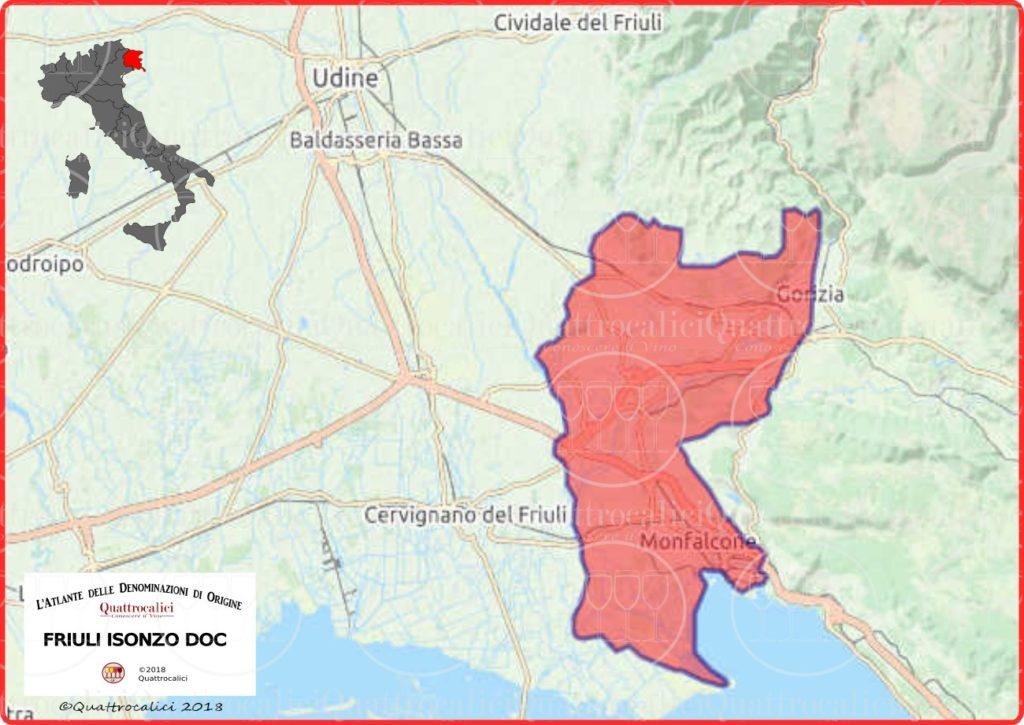 isonzo-doc-cartina