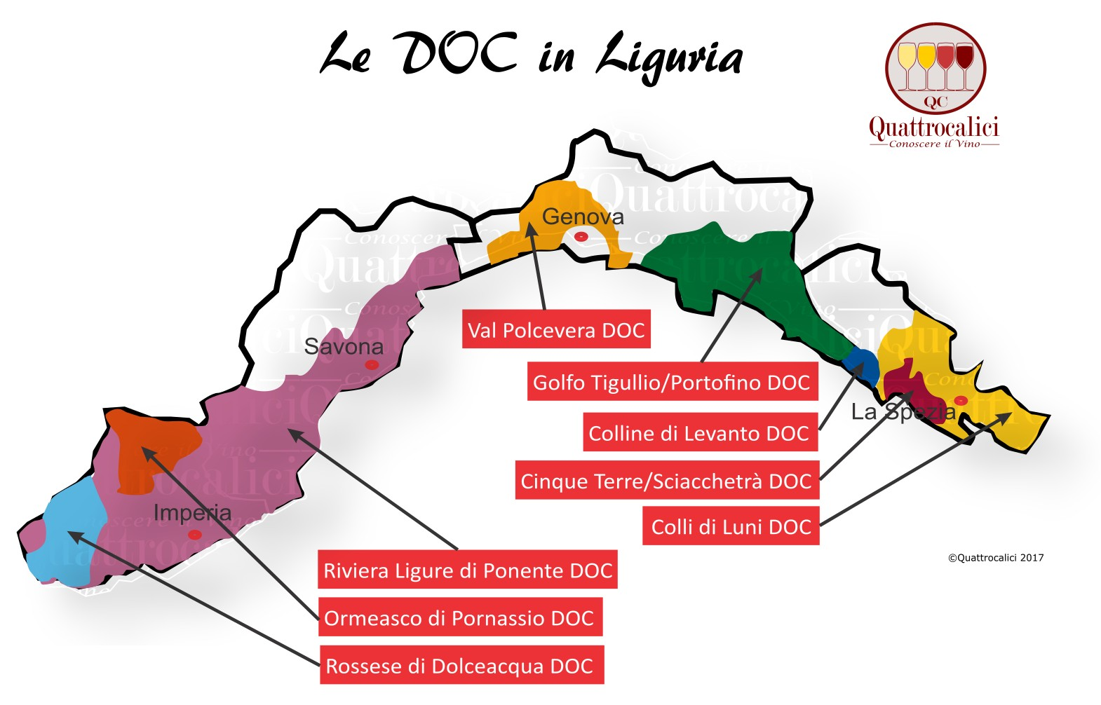 Le DOC della Liguria