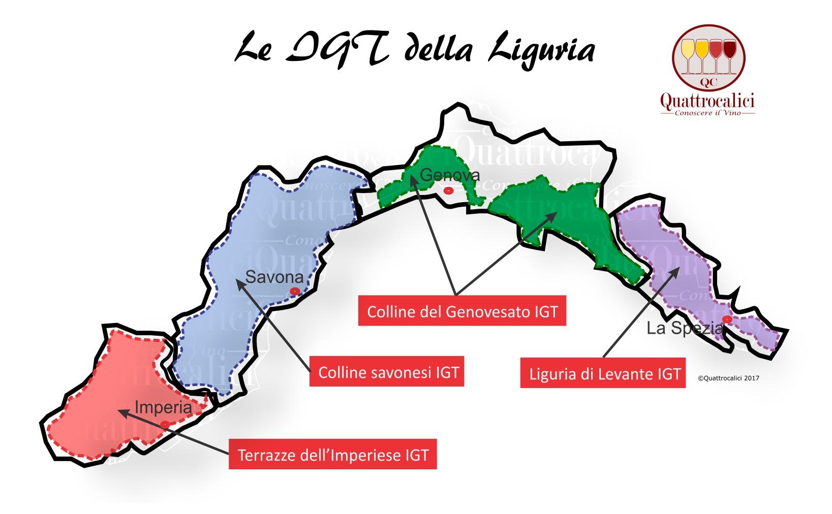 Le IGT della Liguria