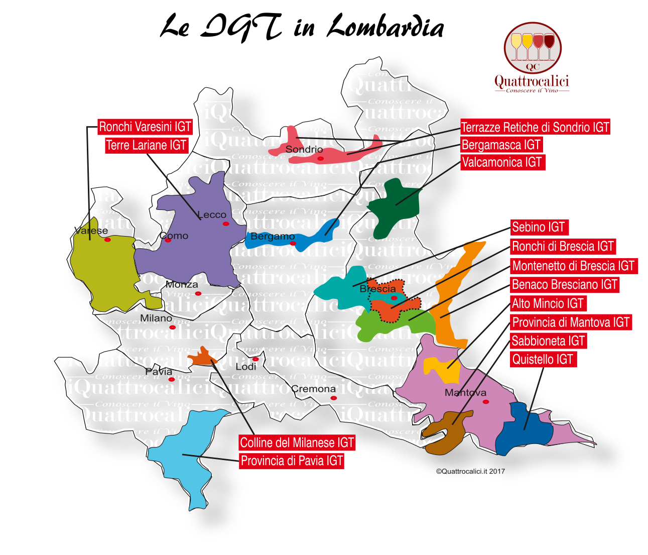 Le IGT in Lombardia