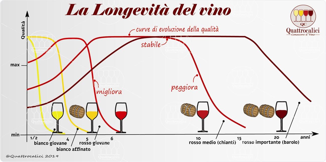 longevità del vino